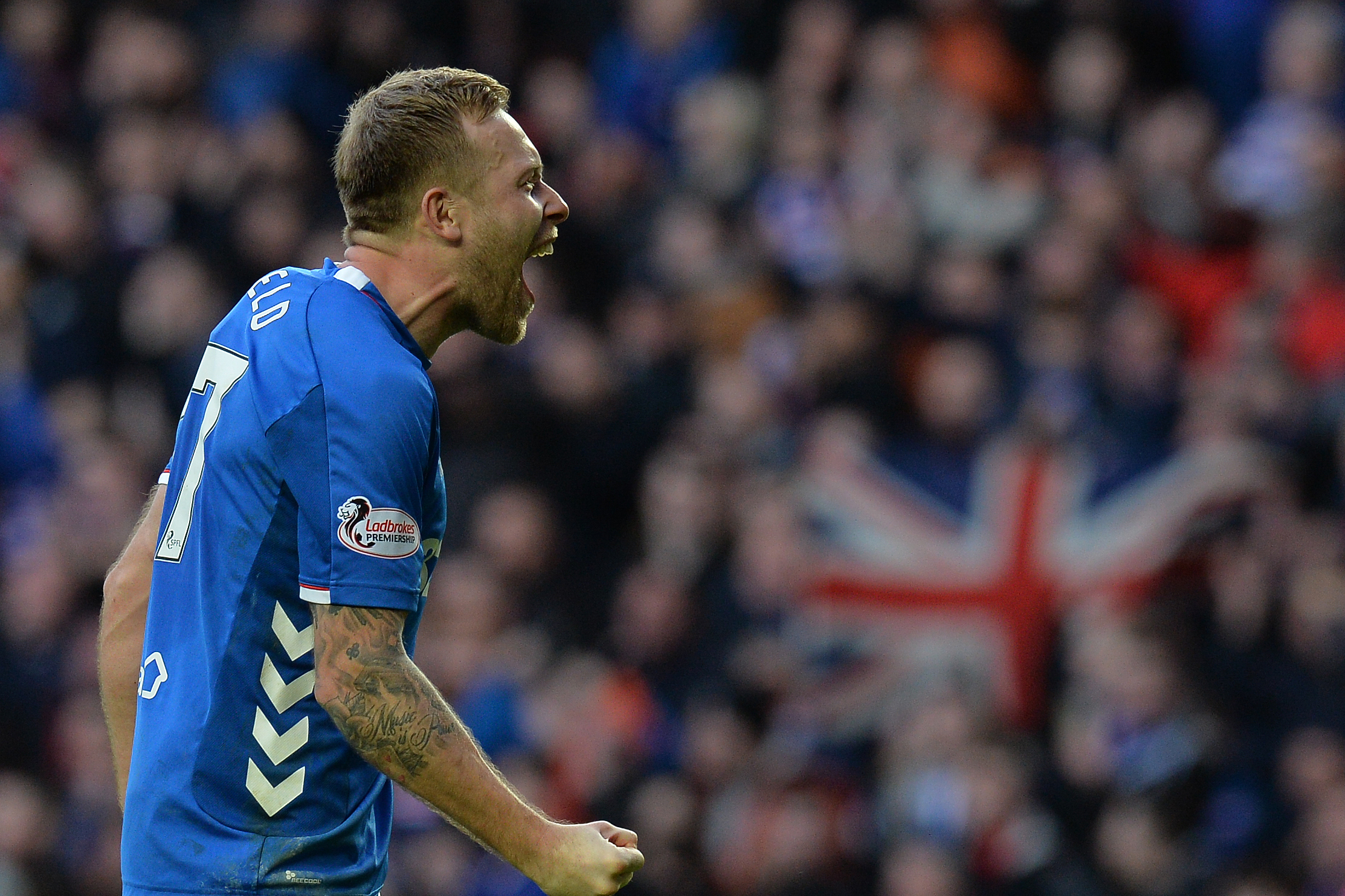 Scott Arfield: Old Firm win has given Rangers a title belief boost