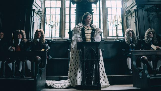 The Favourite leads this year's BAFTAs, nominated for 12 awards