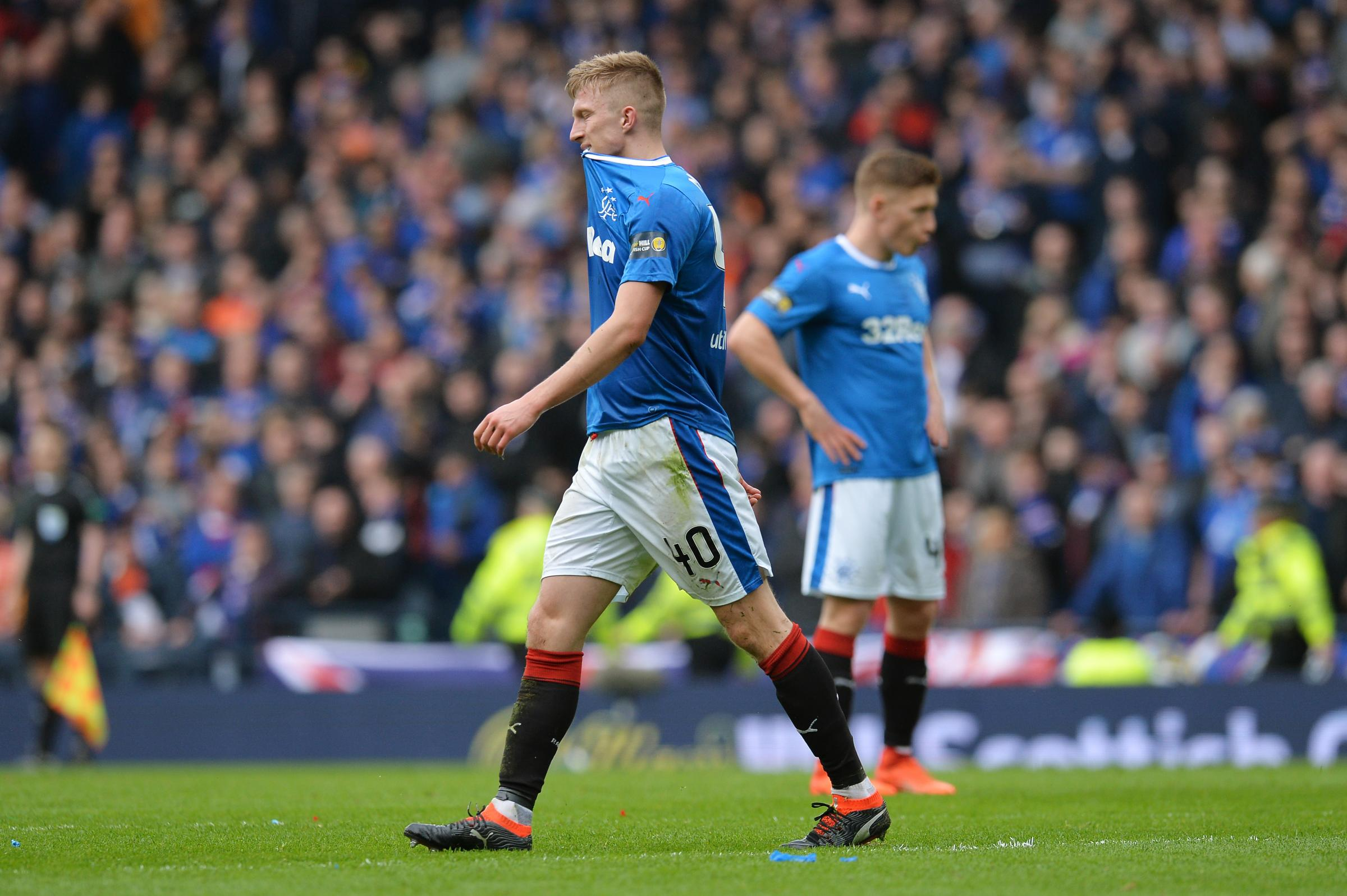 Will Rangers  youth players ever be given a chance in the first team ... 3ab8cf726