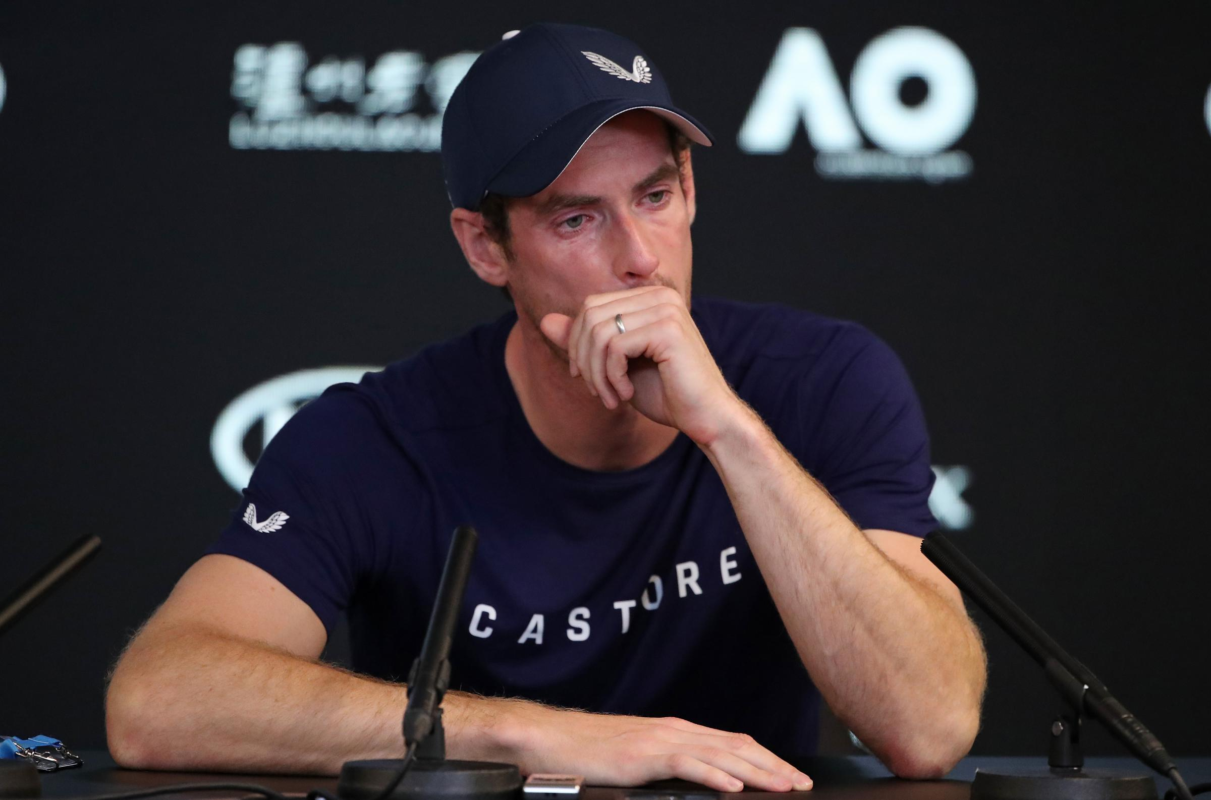 Sir Andy Murray has announced his imminent retirement from tennis PHOTO: GETTY