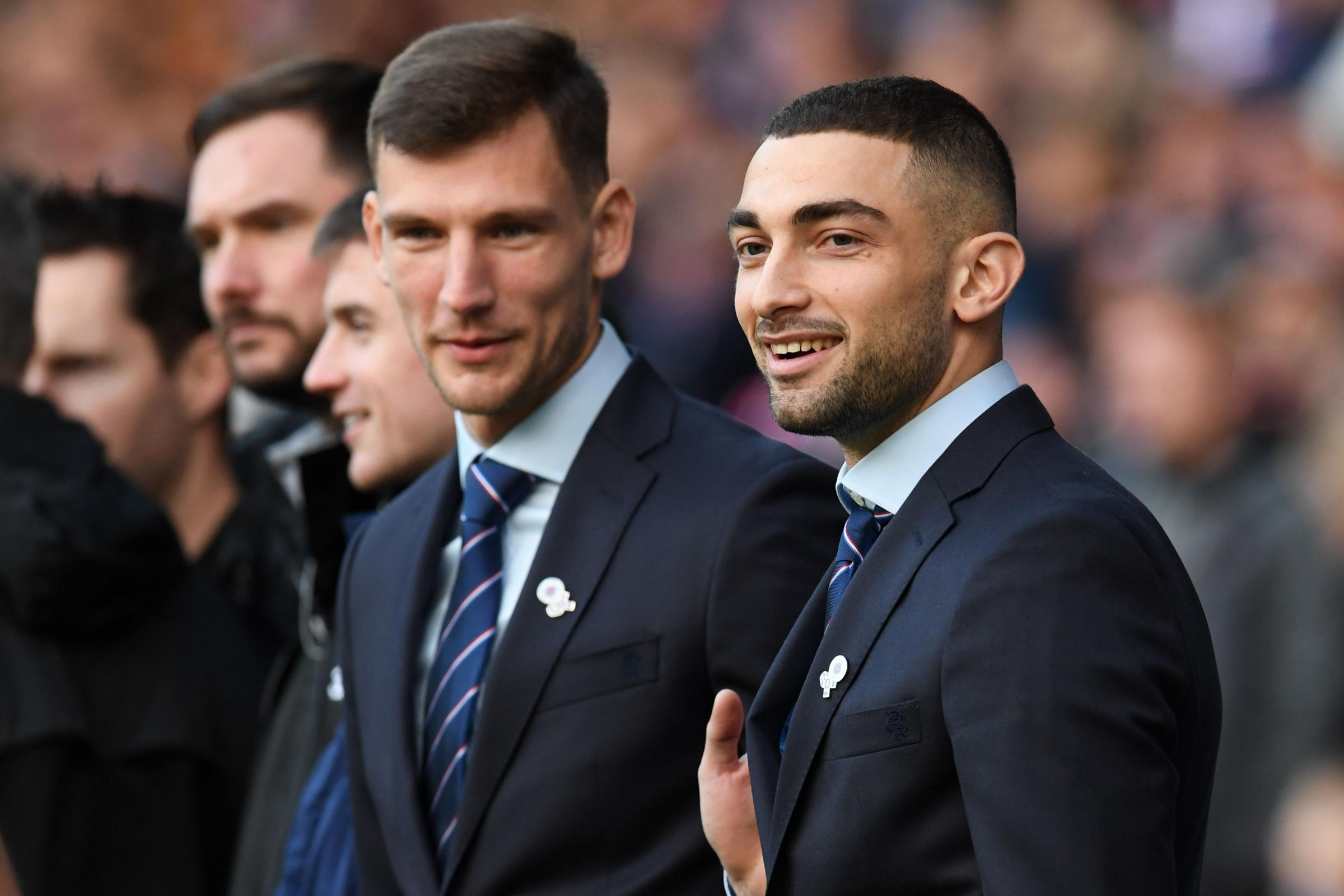 Steven Gerrard challenges Borna Barisic and Eros Grezda to make their mark at Rangers in the second half of the season