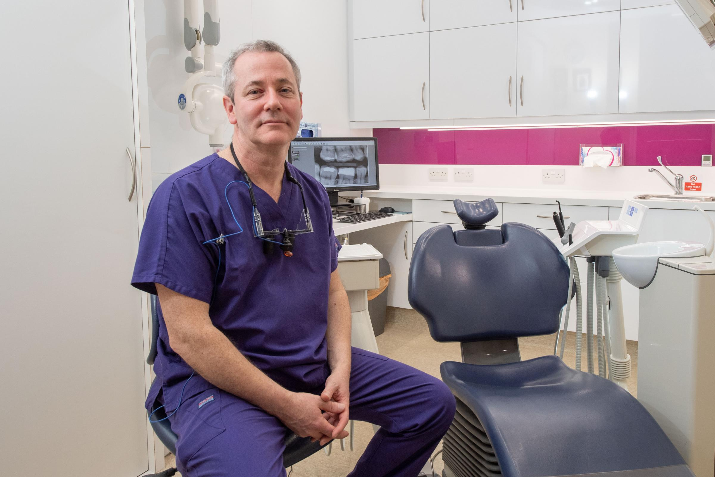 Dentist Ross McLelland said Scotland's new inspections regime has created a double standard between how private and NHS practices are scrutinised Picture by Abermedia / Michal Wachucik