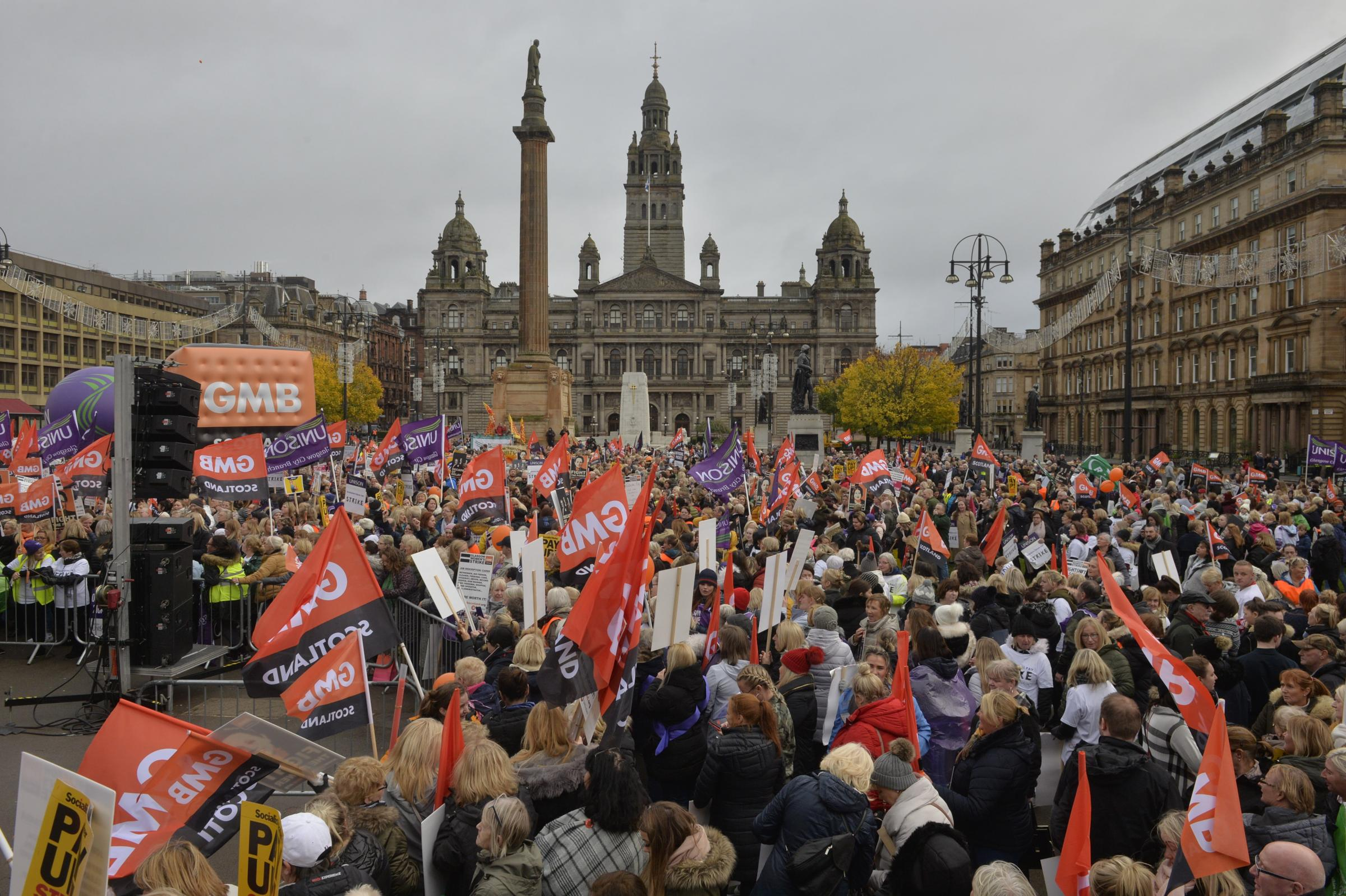 Glasgow City Council close to signing £500m equal-pay settlement