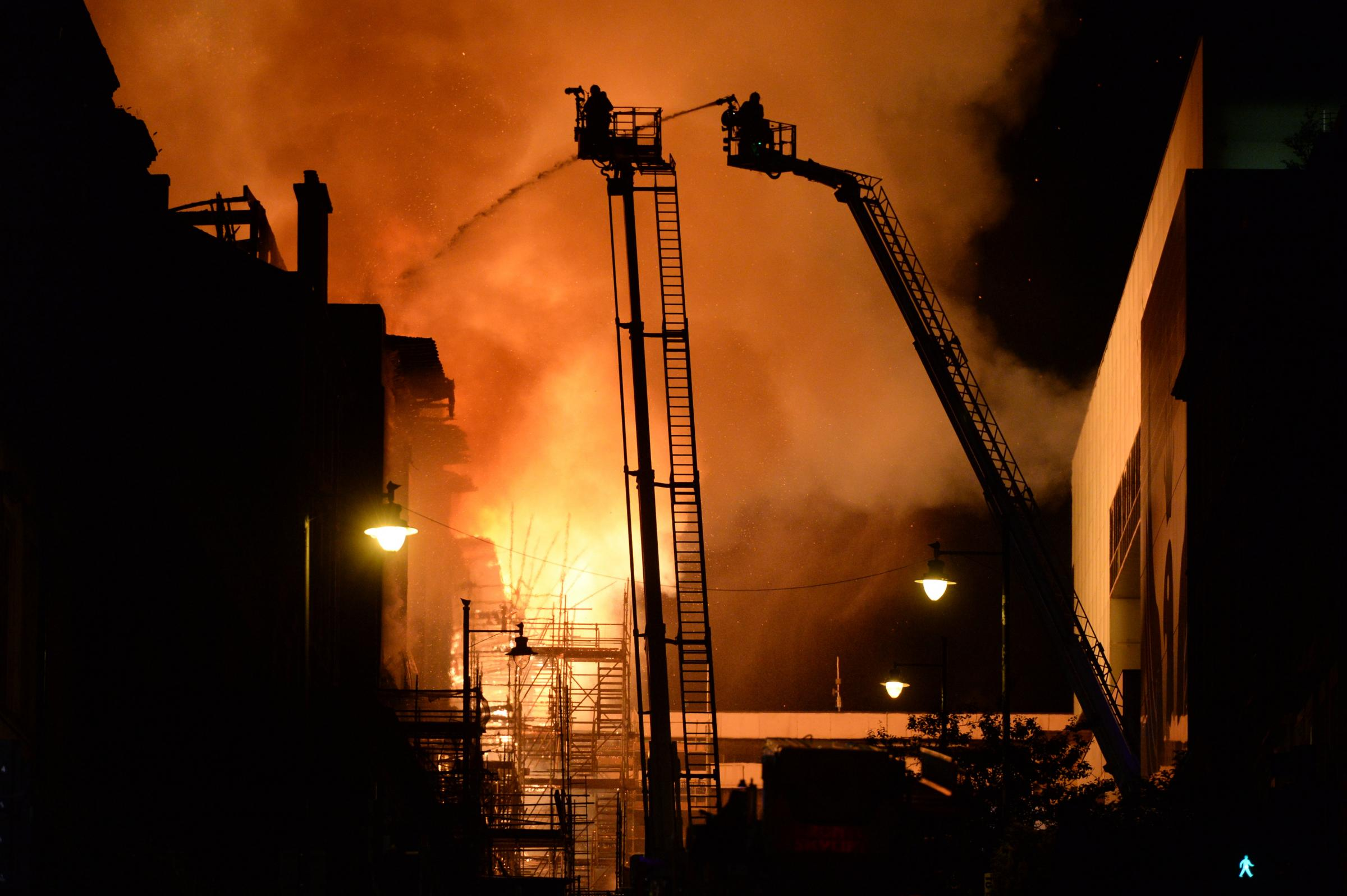 Experts reject Glasgow School of Art claims over second blaze
