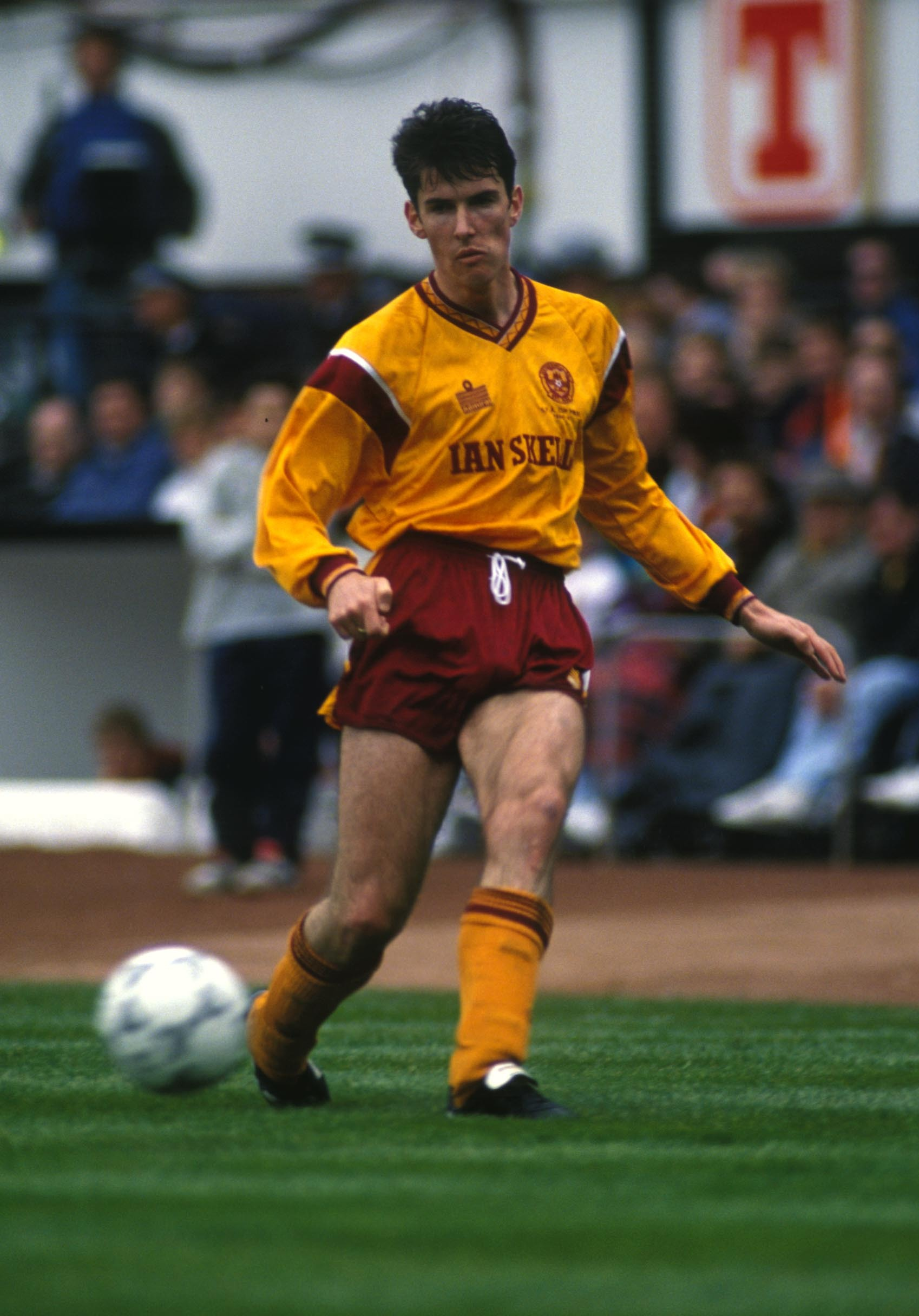 Chris McCart during the 1991 Scottish Cup final.