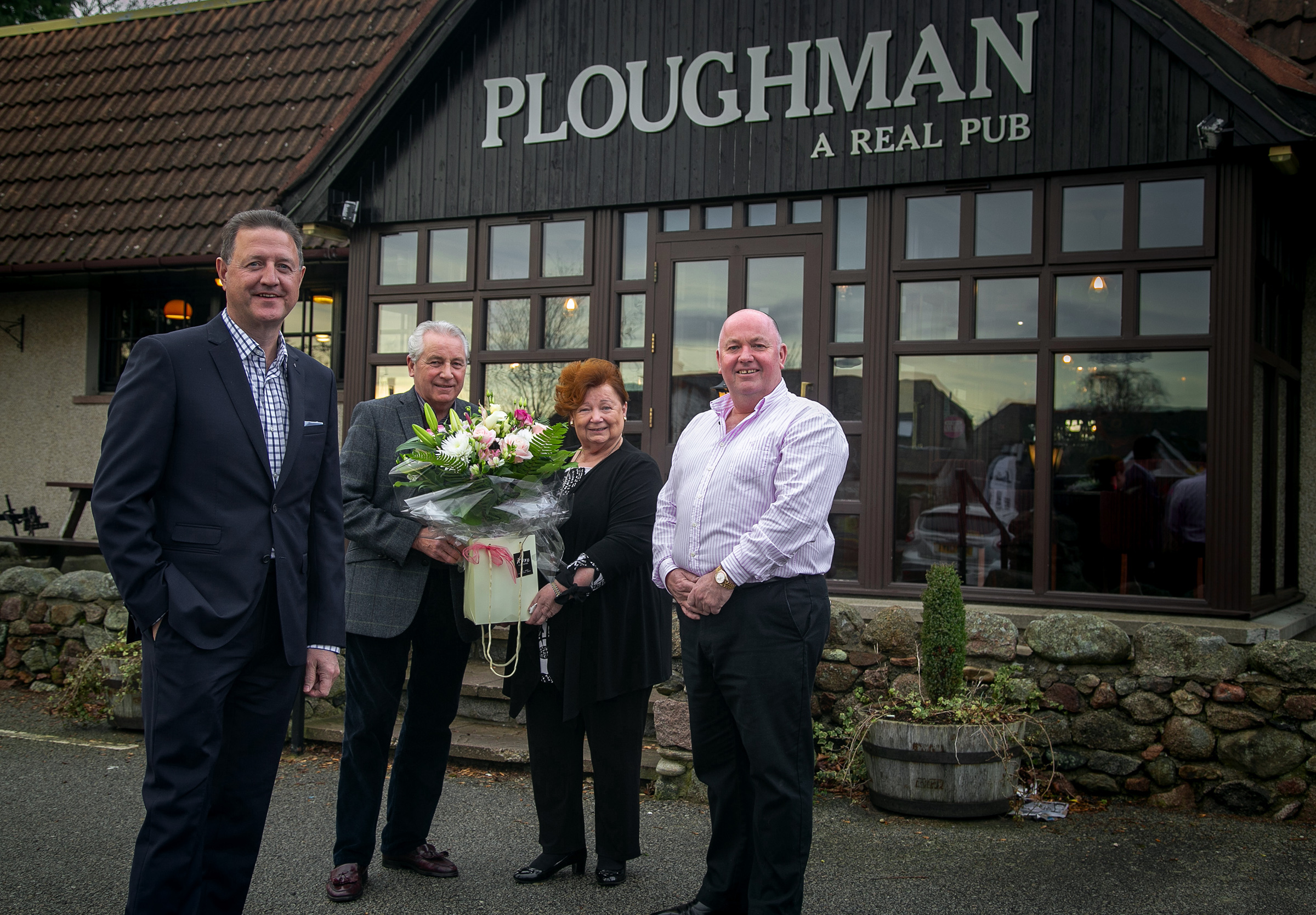 Alistair Dornan (left) and Simon Cruickshank (right) have bought The Ploughman from Graeme and Shirley Wight.