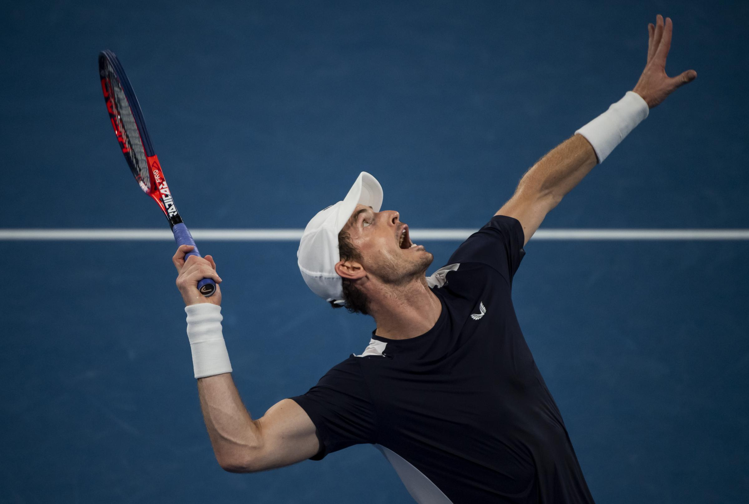 Andy Murray is yet to make a final decision on whether to have hip surgery but has pulled out of a tournament in Marseille next month PHOTO: GETTY