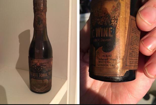 8702b49faa7 Man  drunkenly  buys antique bottle of Buckfast on eBay for £10
