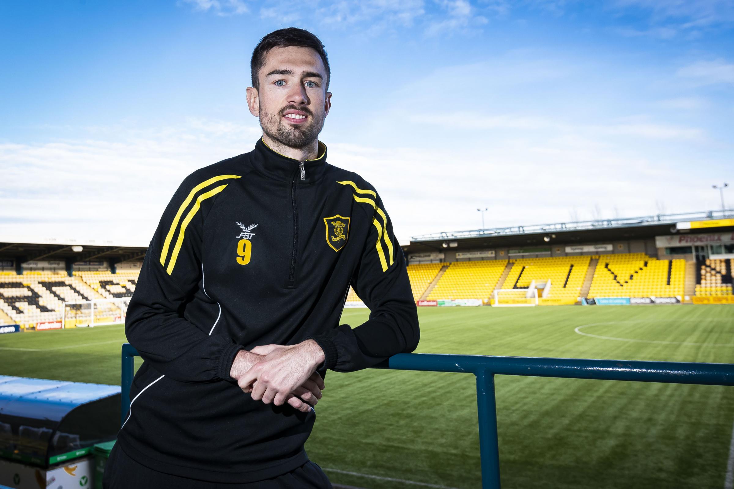 Ryan Hardie hopes advice from Jermain Defoe can help him reach new heights at Livingston