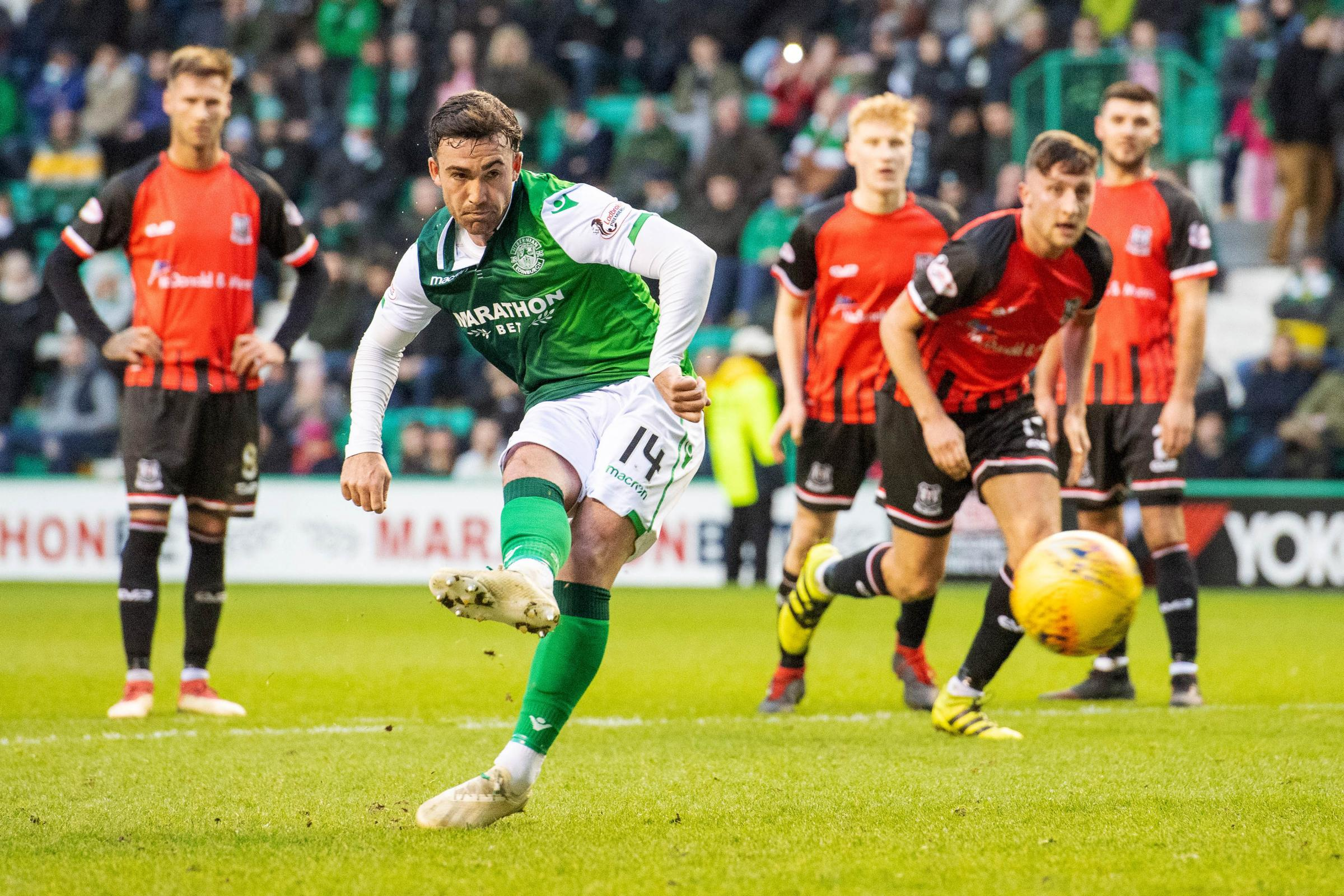 Ryan Gauld shows glimpses of good things to come as Hibs dispatch Elgin to reach last 16