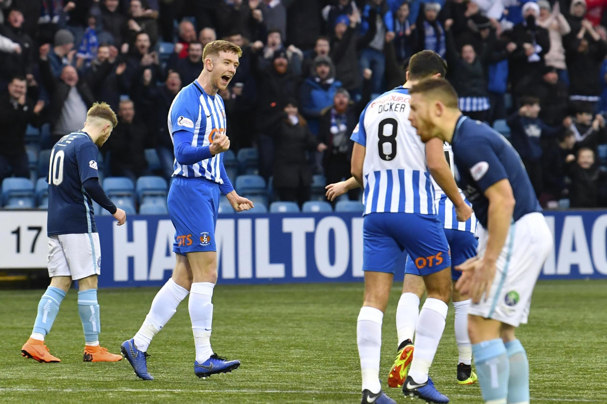 Kilmarnock's Stuart Findlay makes case for defence and attack