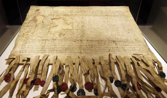 The document calling on the Pope to recognise Scotland as an independent nation was signed in 1320.