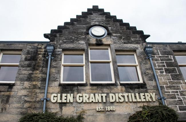 The whisky came from the Glen Grant distillery.
