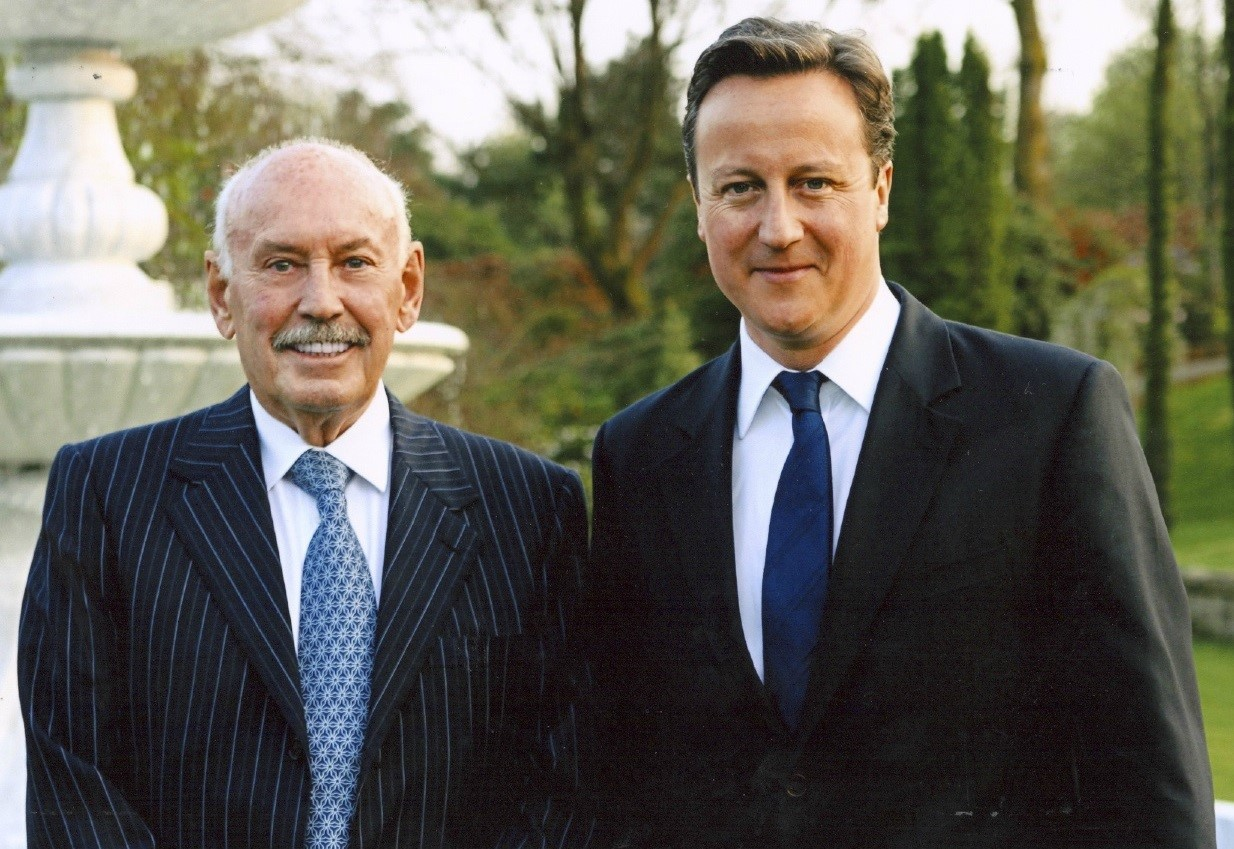John Fortune-Fraser and David Cameron