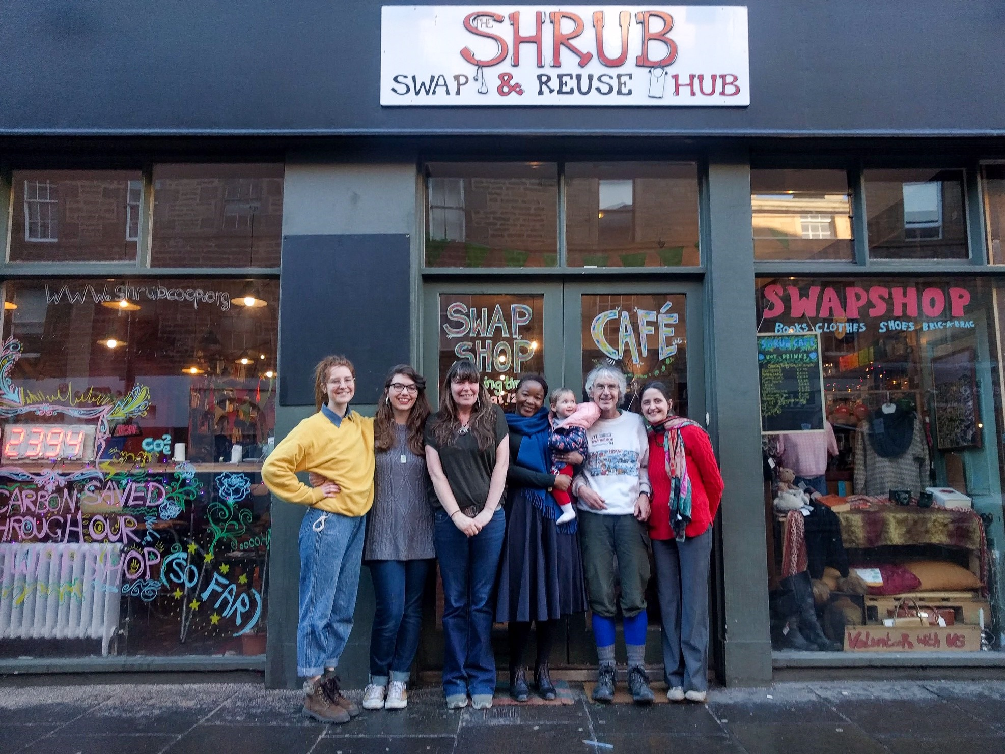 Swap and Reuse Hub is run by students at the University of Edinburgh