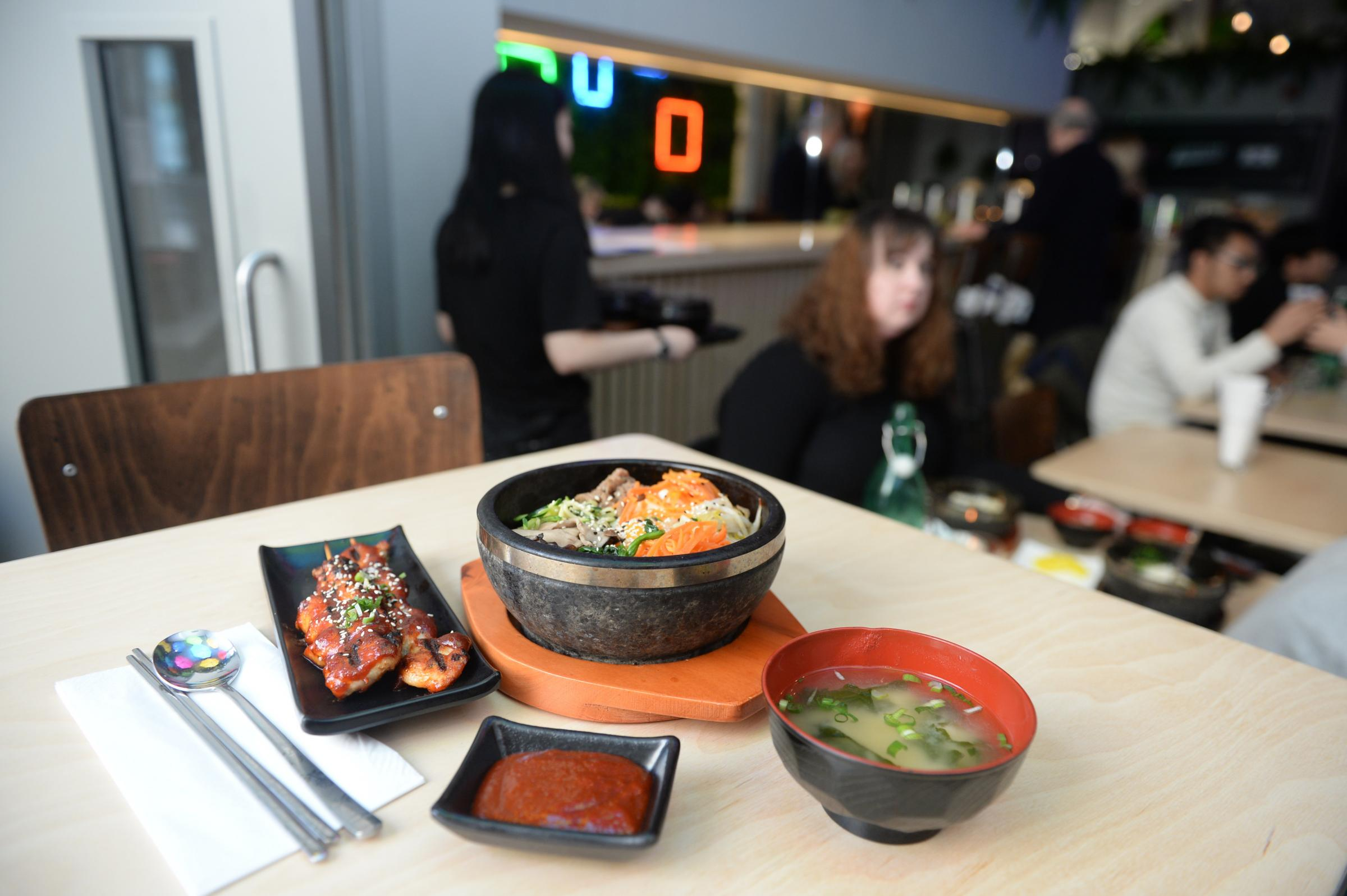 Bibimbap Restaurant in West Nile Street, Glasgow