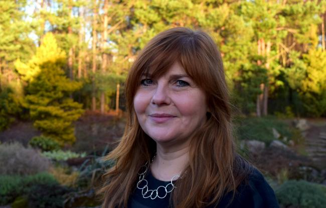 Emma Nicolson, the new head of exhibitions at Royal Botanic Garden Edinburgh