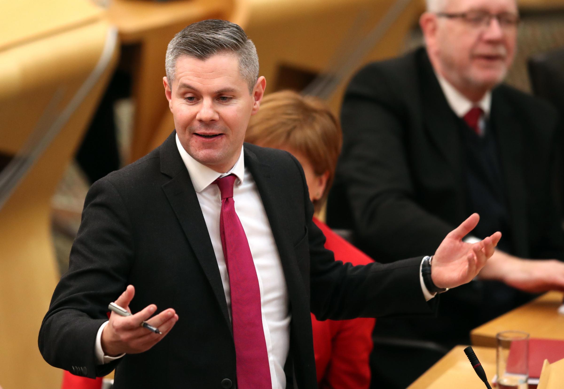 Derek Mackay put through £1,000 public speaking 'refresher' course