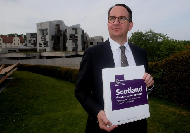 Andrew Wilson's Growth Commission report predicted that an independent Scotland would take 10 years to regain its previous prosperity