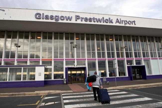 The Scottish Government have announced that Glasgow Prestwick Airport is to be taken under public ownership. Pictured is Picture Christian Cooksey.
