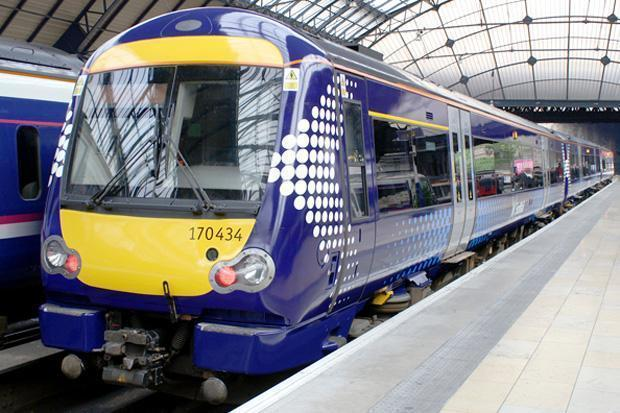 ScotRail has recorded a dramatic fall in passenger numbers