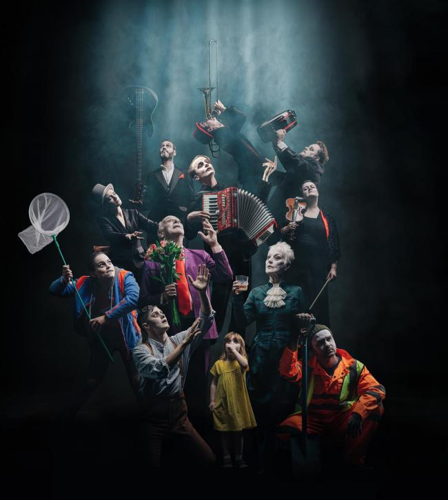 The Dark Carnival. The new Vanishing Point - A New International production co-produced with The Citizens Theatre