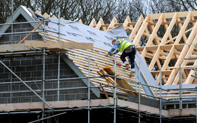 James Donaldson & Sons supplies timber trusses used in housebuilding Picture: Rui Vieira/PA Wire