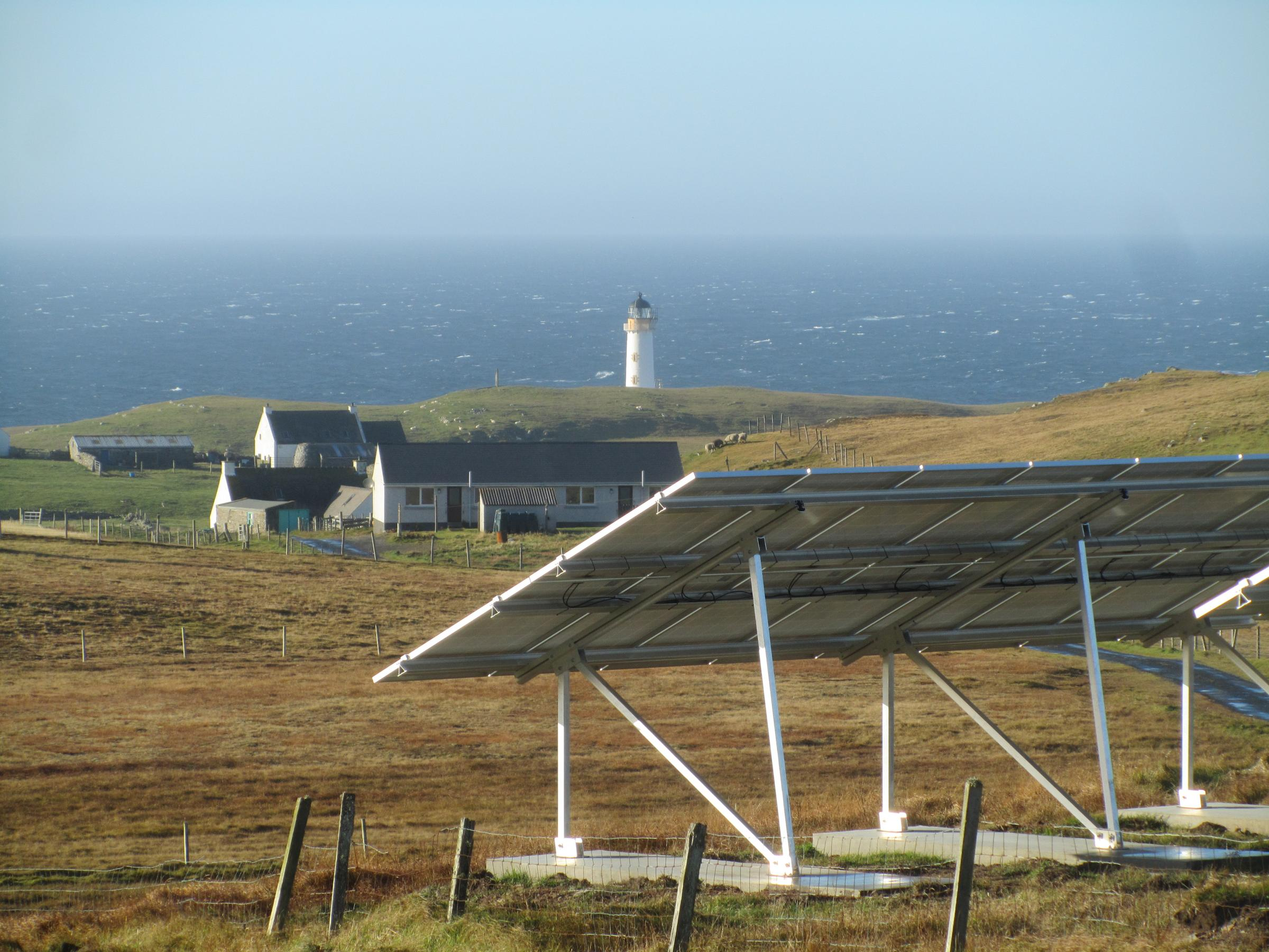 Fair Isle's renewable energy system offers potential for economic growth