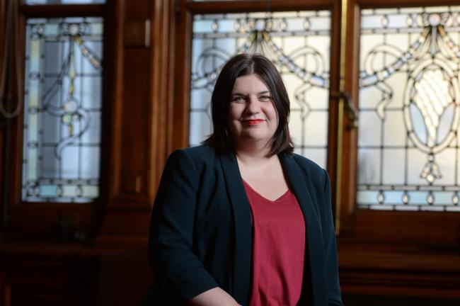 Glasgow City Council Leader Susan Aitken for Sunday Herald People Behind the Power feature. .........25/10/17. (Photo by Kirsty Anderson / Herald & Times) - KA.