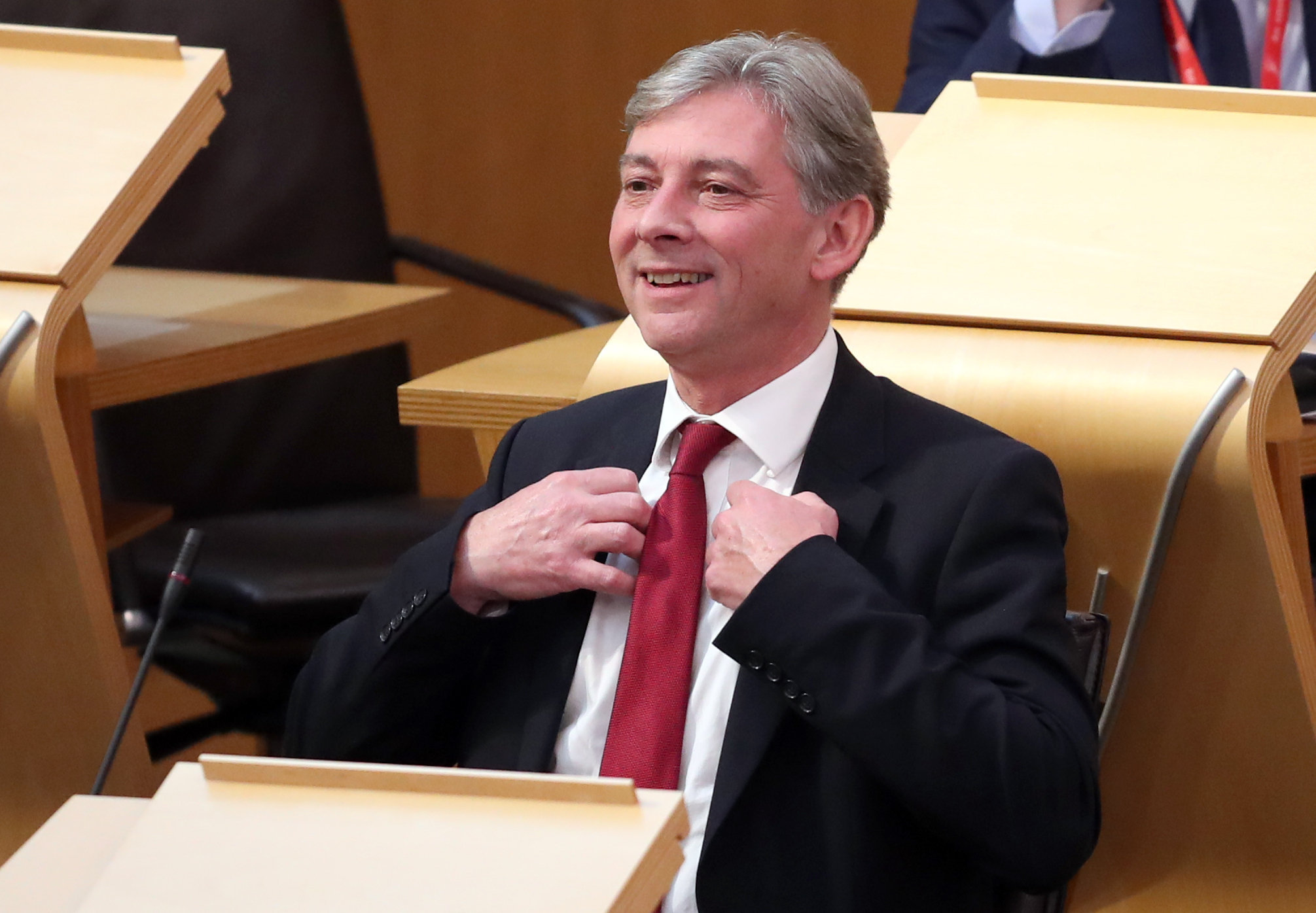 This is all going brilliantly: Richard Leonard