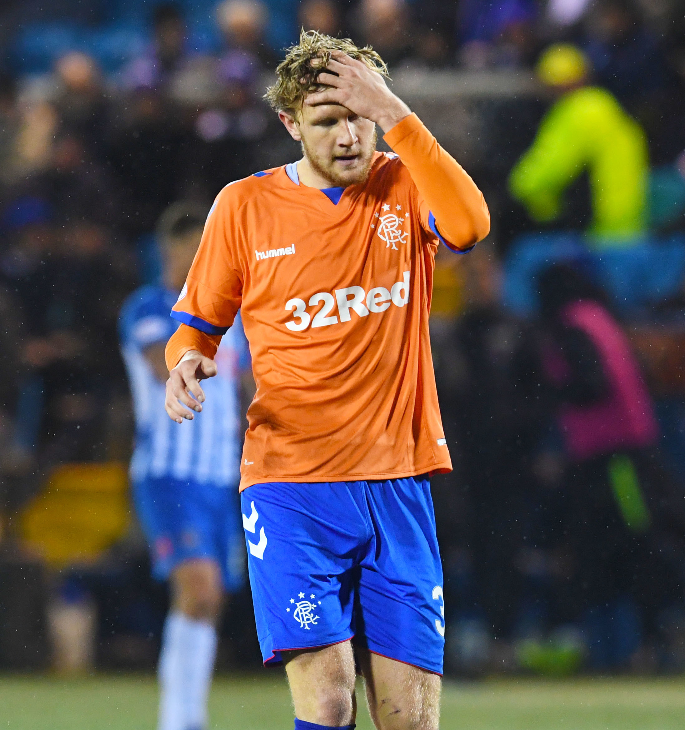 Rangers defender Joe Worrall says he has got over his horror show at Kilmarnock.