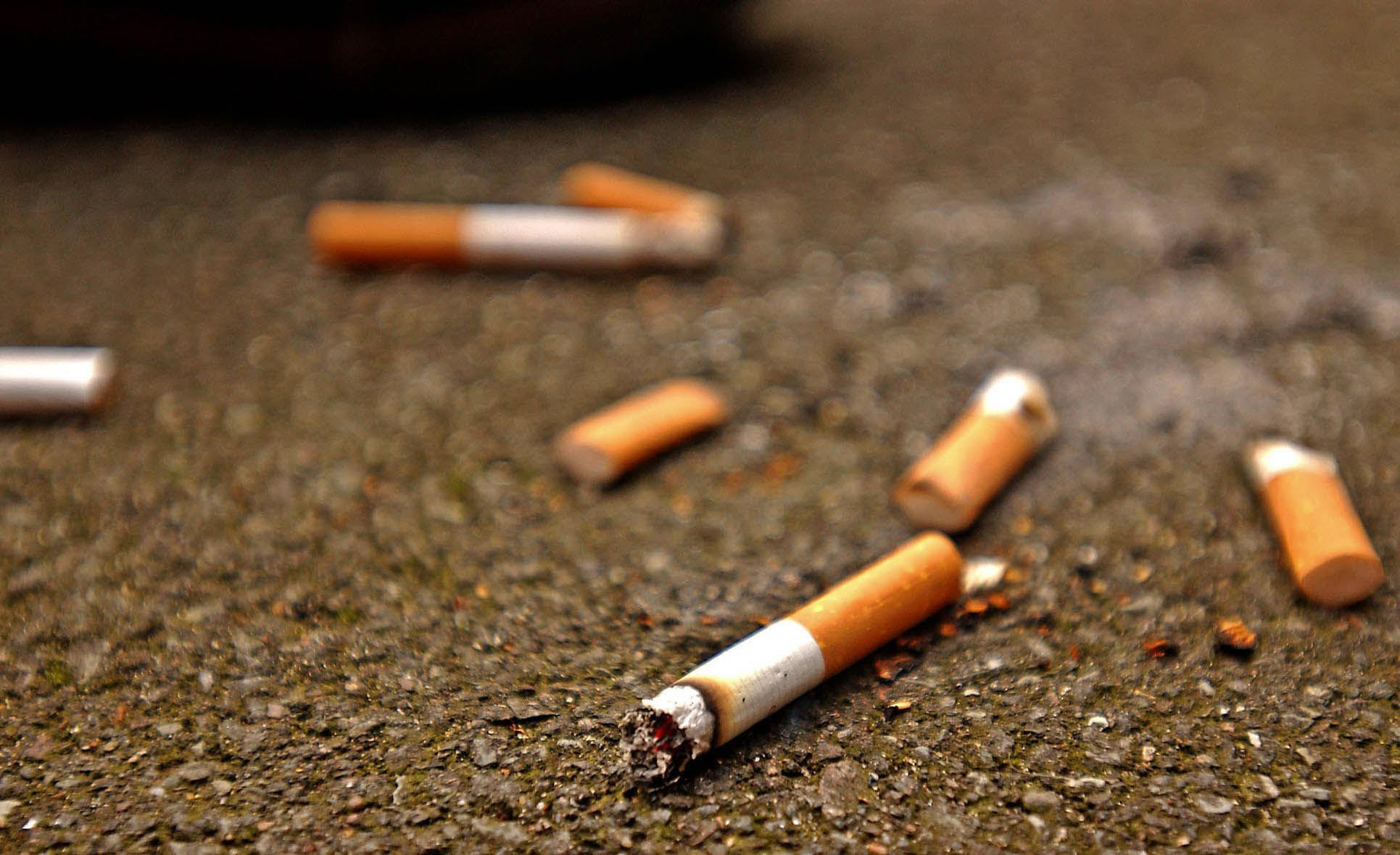 Smokers are the worst offenders on litter