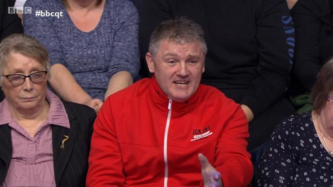 Billy Mitchell on Question Time