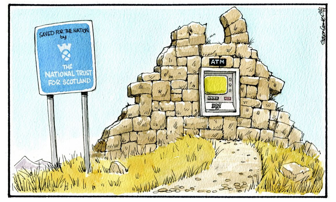 Camley's Cartoon on Tuesday, February 12: Disappearing ATMs