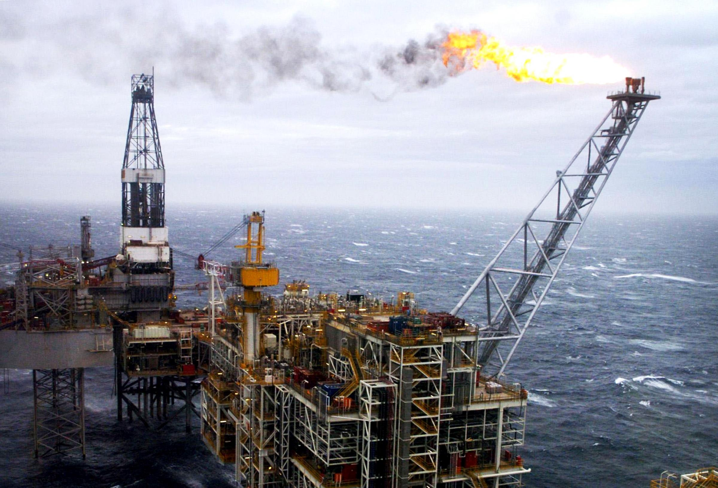 North Sea oil and gas facility Picture: Danny Lawson/PA Wire