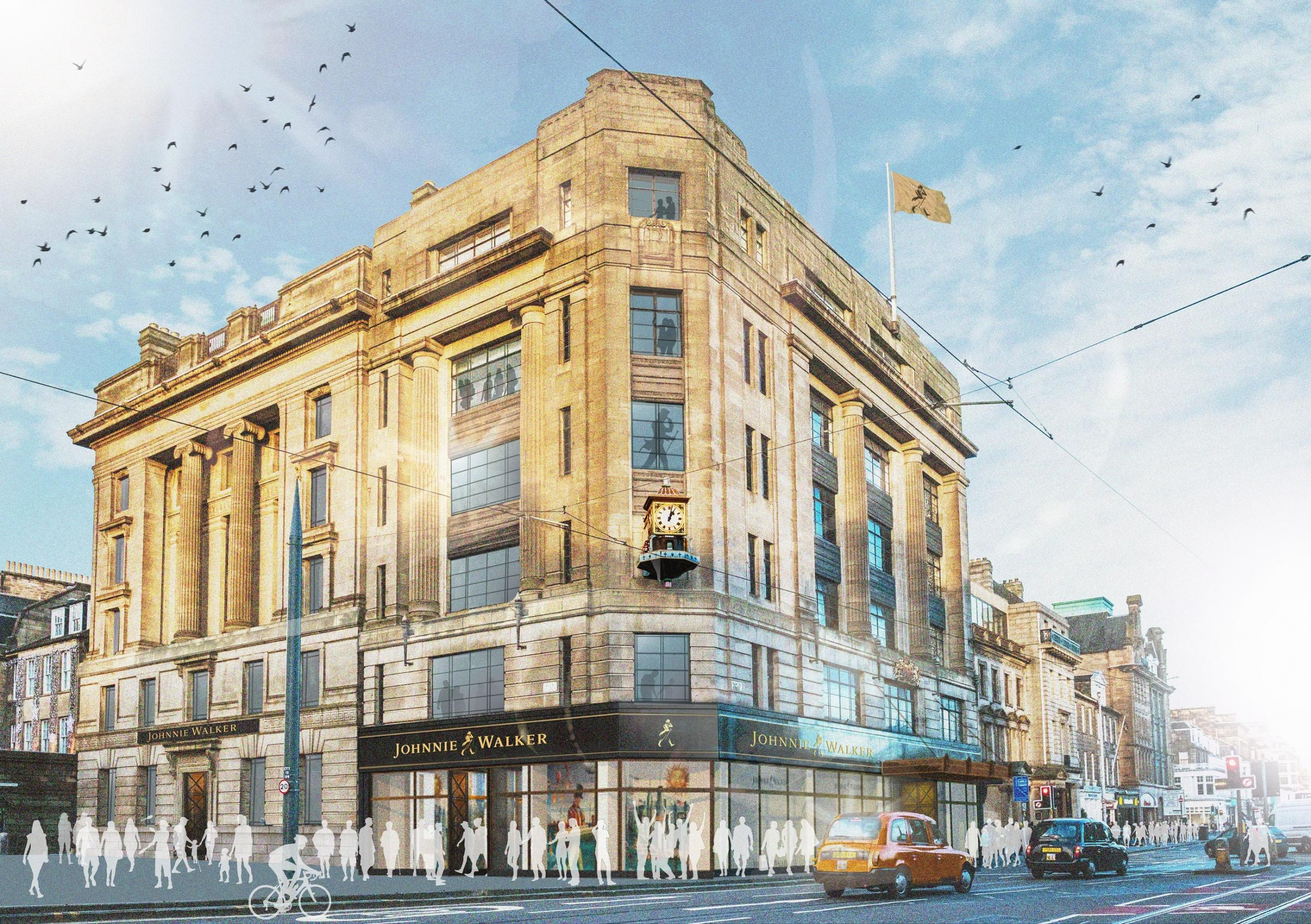 Diageo unveil whisky tourism centre for former House of Fraser in Princes Street