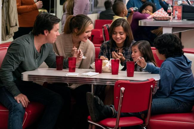 Mark Wahlberg as Pete Wagner, Rose Byrne as Ellie Wagner, Isabela Moner as Lizzy, Julianna Gamiz as Lita and Gustavo Quiroz as Juan