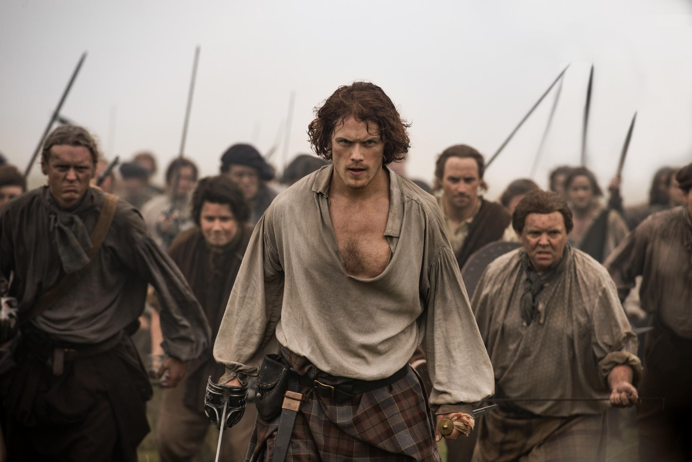 "Outlander's depiction of Bonnie Prince Charlie branded ""a travesty"""