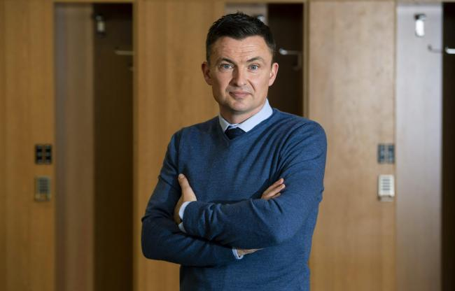 Paul Heckingbottom is unveiled as the new head coach of Hibernian