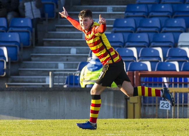 Partick Thistle have accepted a bid from Norwich for Aidan Fitzpatrick PHOTO: PA