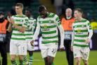 Odsonne Edouard looks dejected at full time