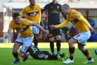 Motherwell's form has improved dramatically since youngsters like Jake Hastie have been playing regularly for the club PHOTO: PA