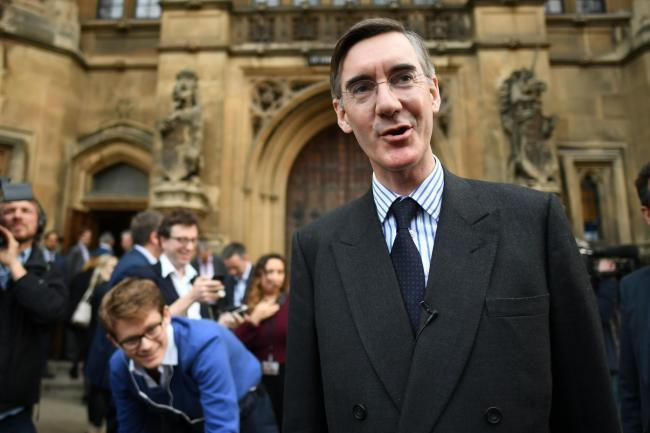 Conservative MP Jacob Rees-Mogg. Photo by PA