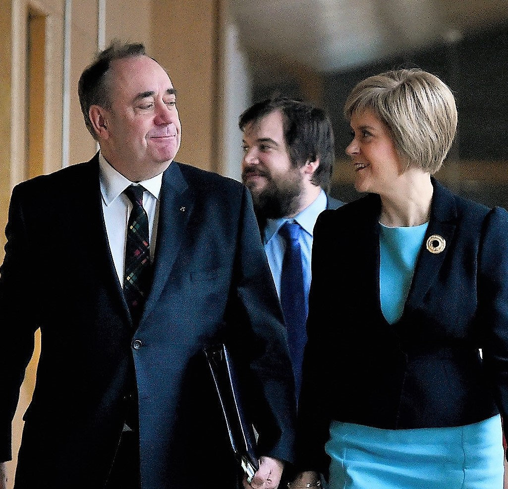 SNP Government: we can't say if Alex Salmond emailed Nicola Sturgeon