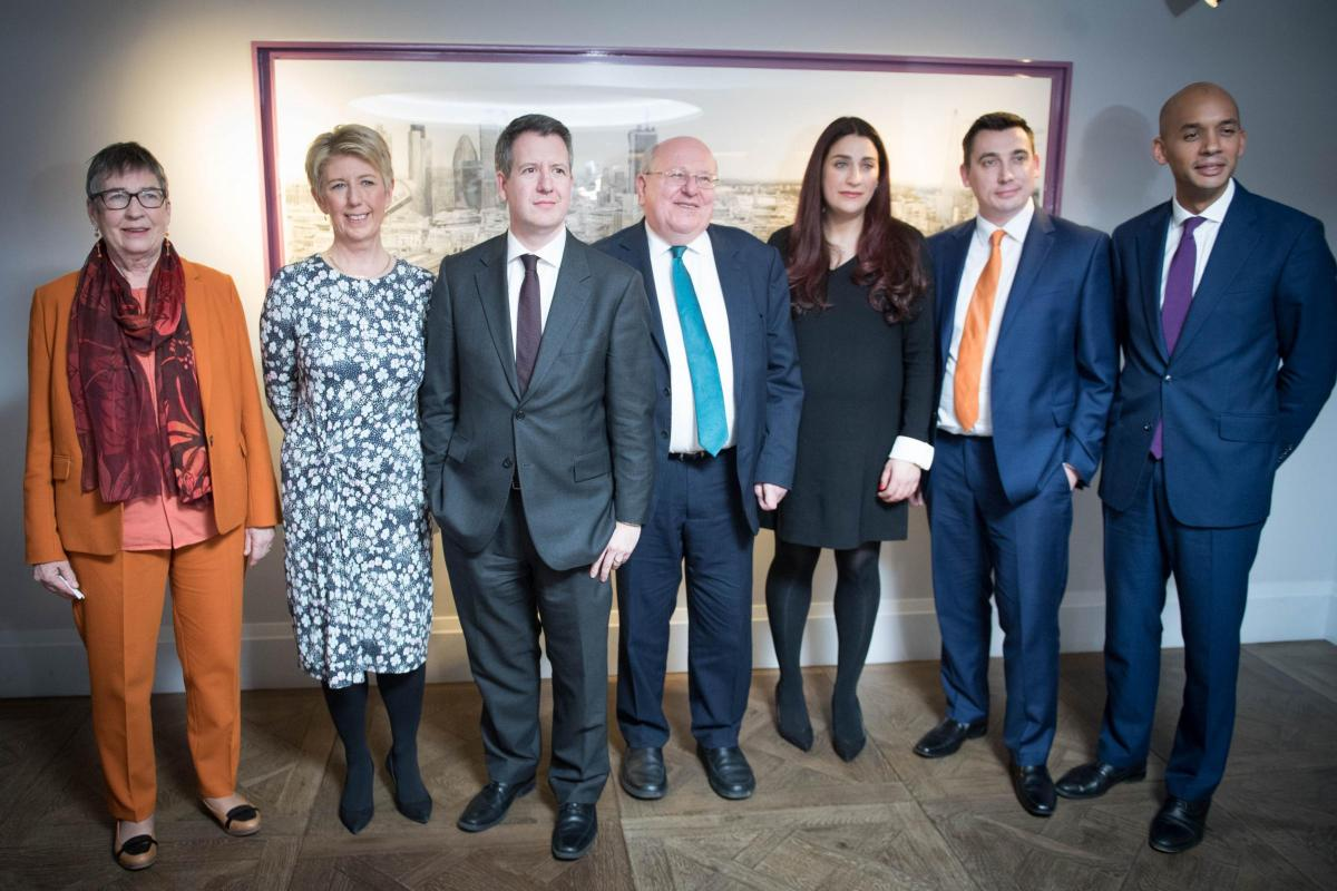 Image result for the seven Labour members