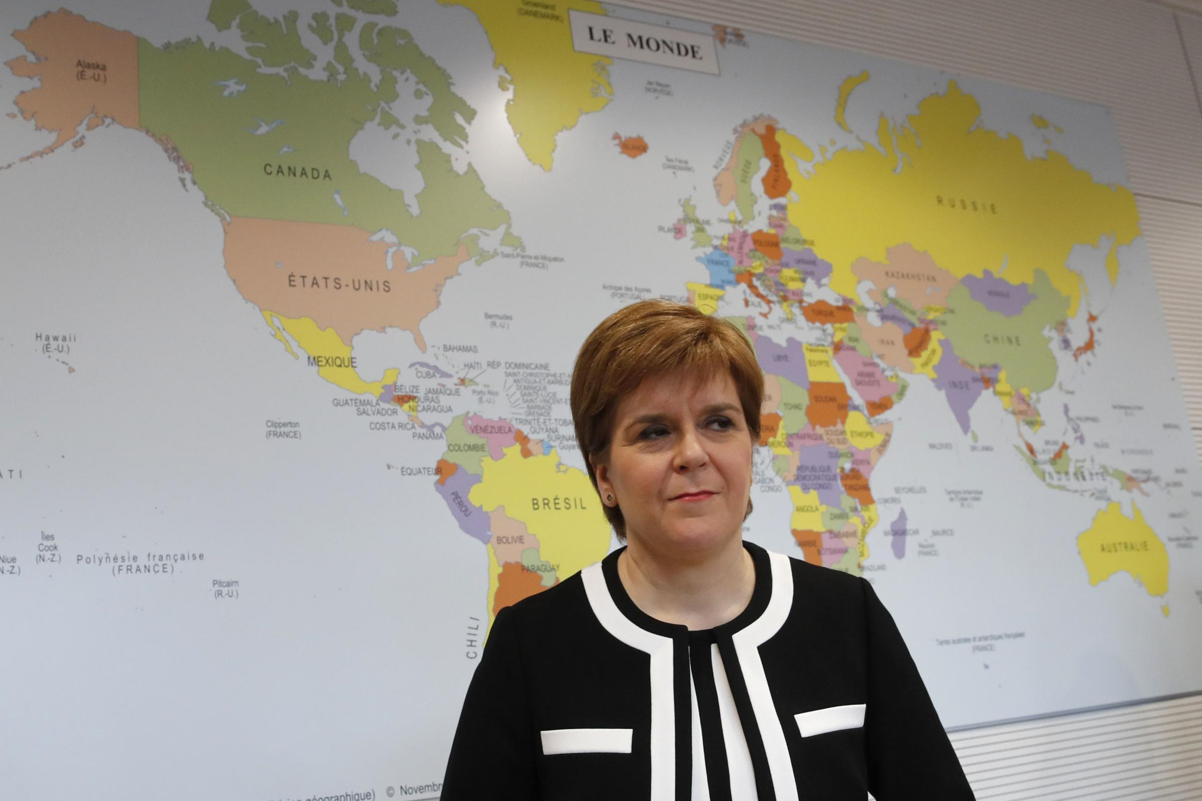 Westninster ignores Scotland, and our independence will be different from 'isolationism that characterises Brexit' - Nicola Sturgeon