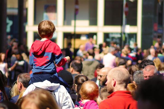 HeraldScotland: How would you find your child if they got lost in a crowd? Credit: Digital Punks, Pixabay