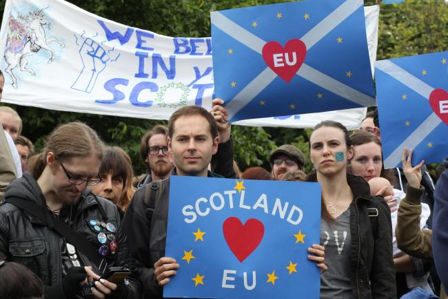 The EU has never faced a situation like Scotland's. So there cannot be any certainty about what it might do