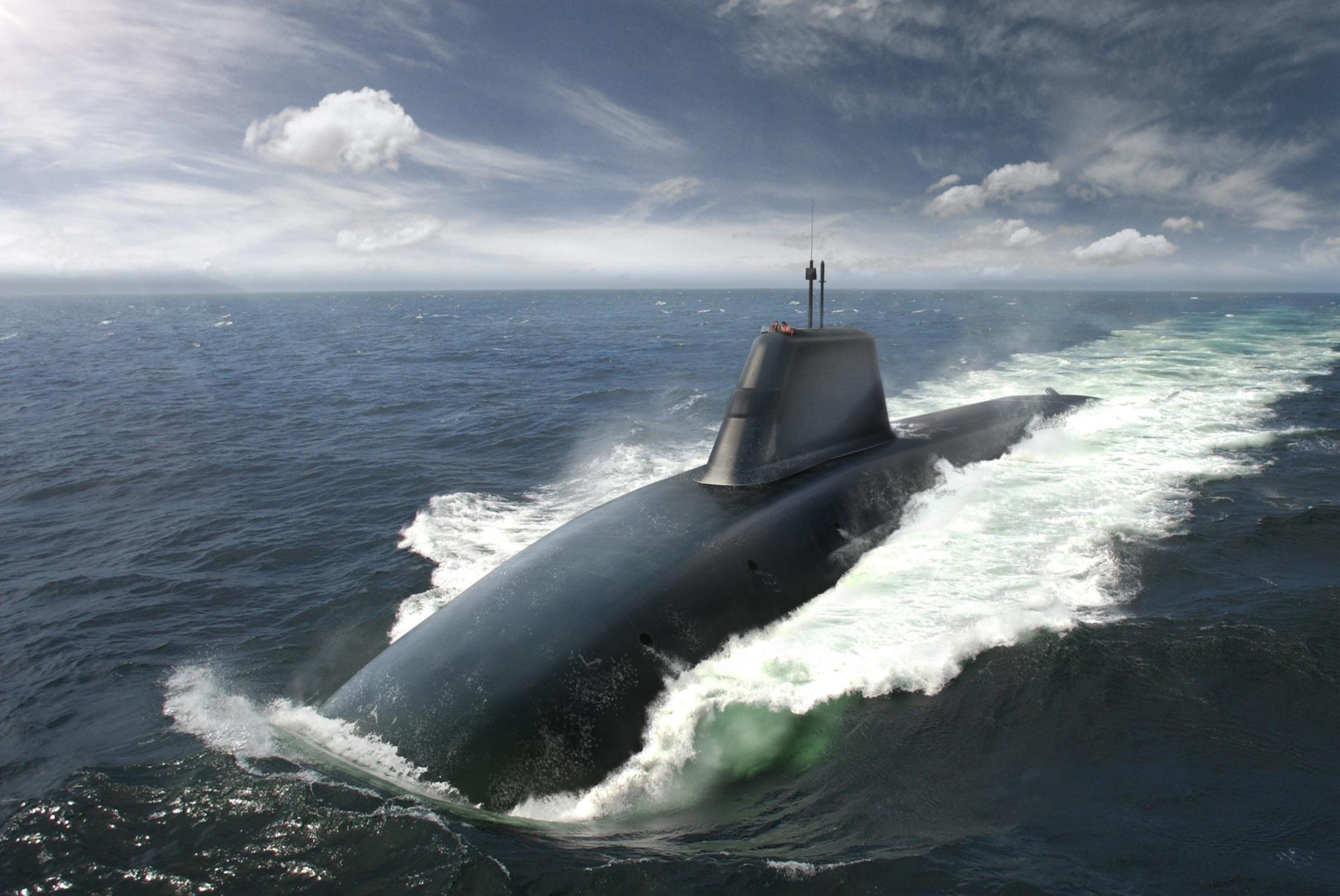 Glasgow firm wins £330m contract to build periscopes for nuclear submarines