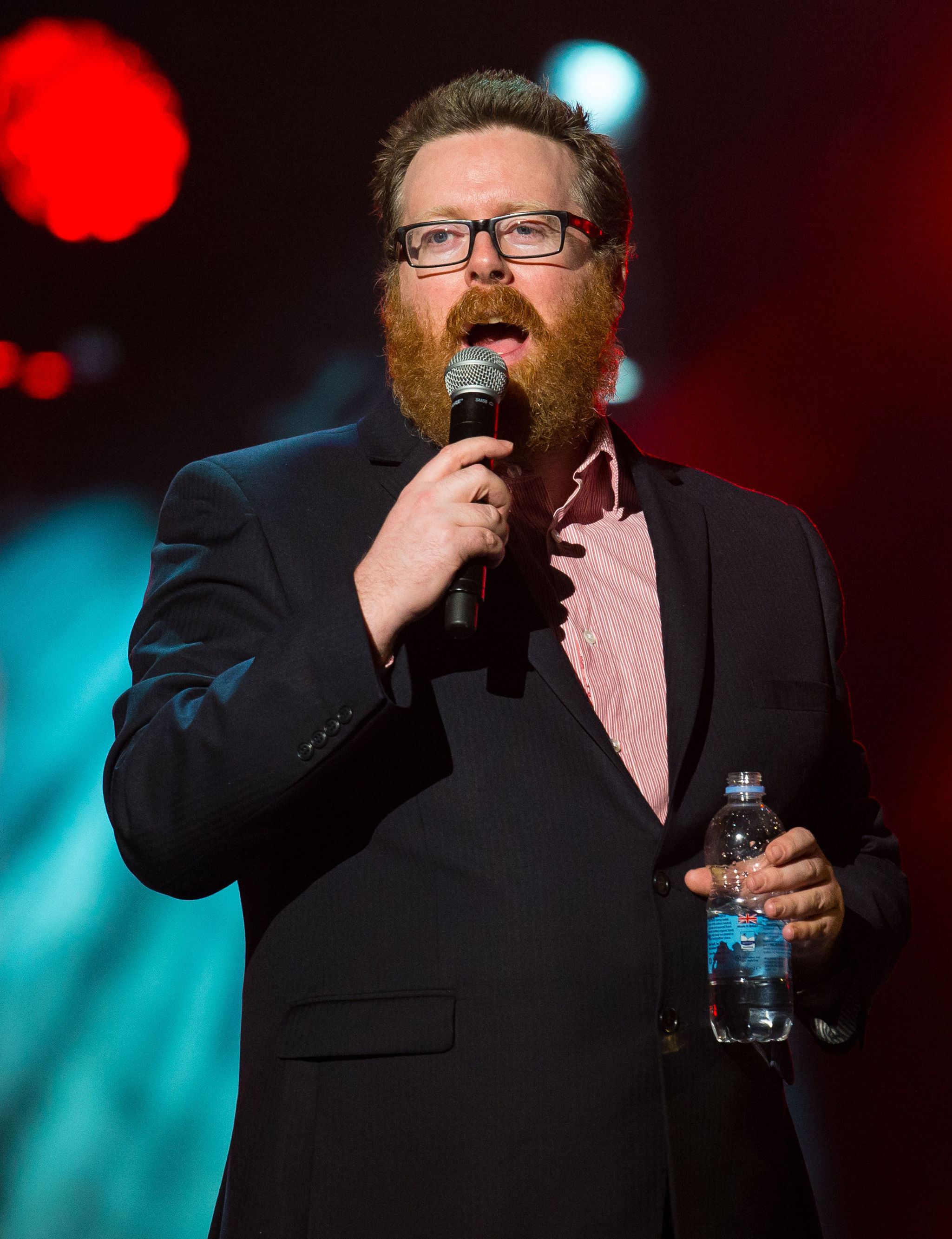 File photo dated 24/03/15 of Frankie Boyle, who is returning to the BBC with a topical news comedy show. PRESS ASSOCIATION Photo. Issue date: Wednesday April 26, 2017. The Scottish comic, 44, has sparked anger in the past with a string of jokes, causing o